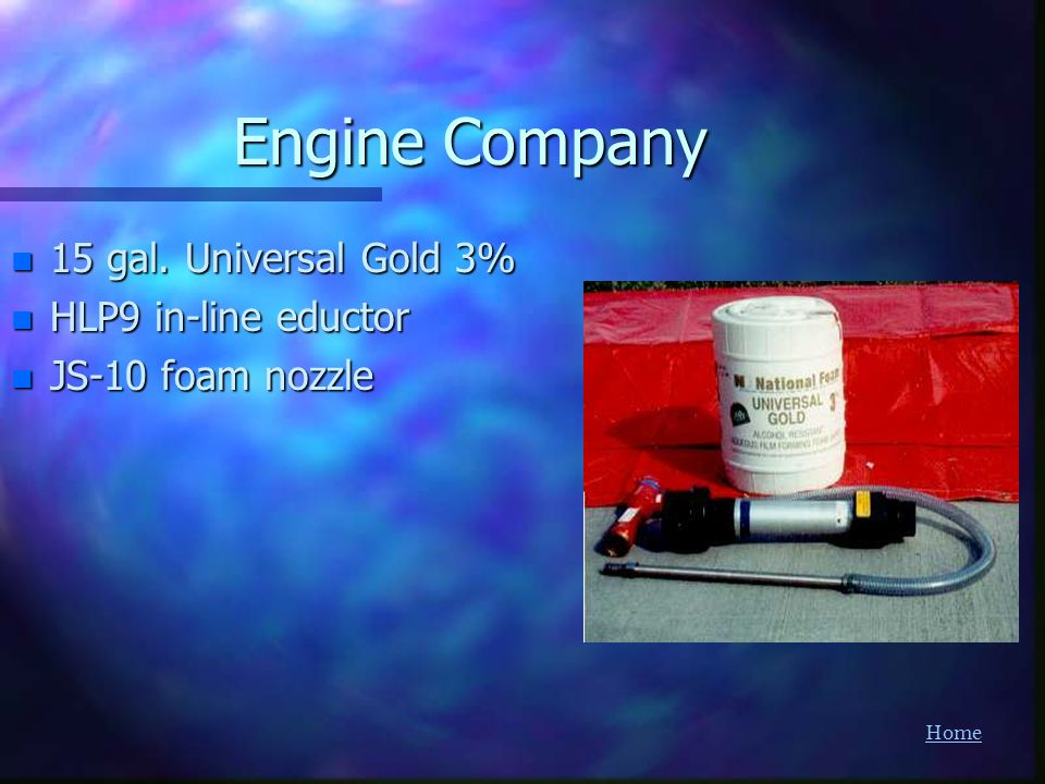 Engine Company 15 gal. Universal Gold 3% HLP9 in-line eductor
