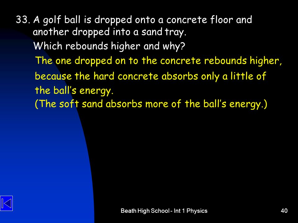 Beath High School - Int 1 Physics