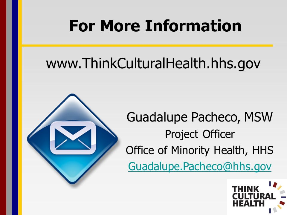 Office of Minority Health, HHS