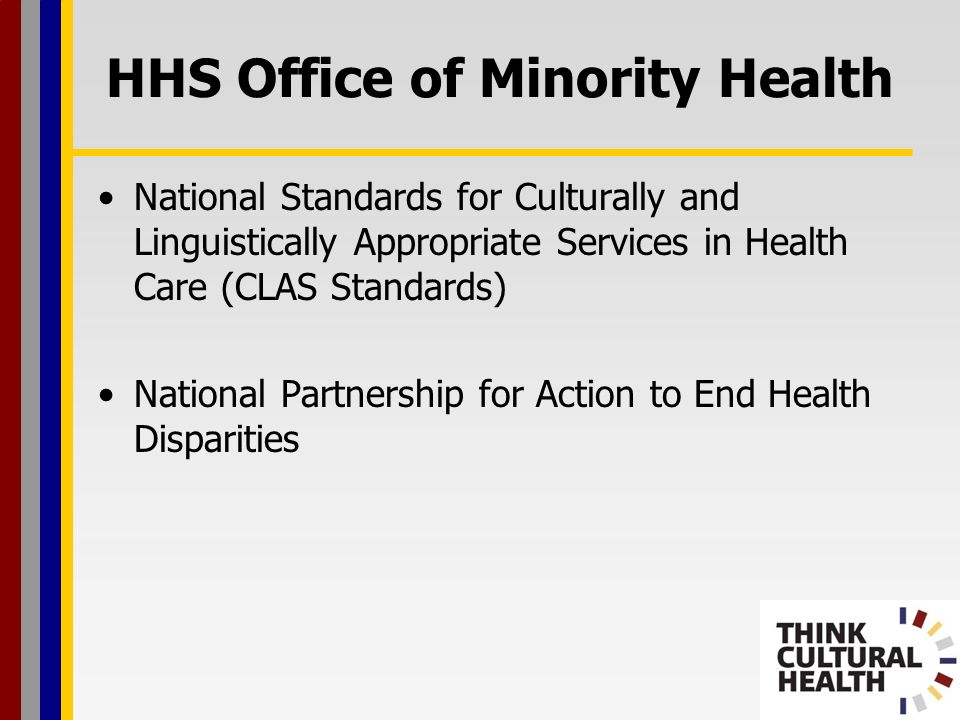 HHS Office of Minority Health