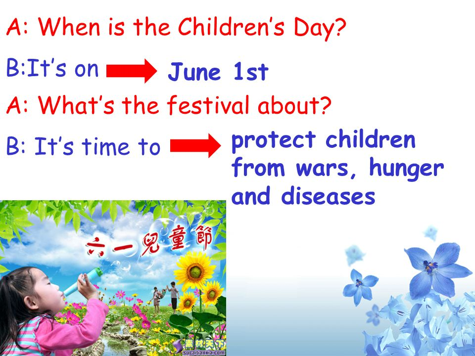 A: When is the Children's Day