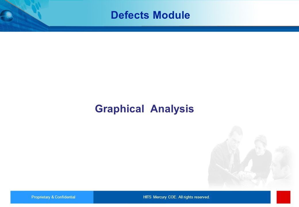 Defects Module Graphical Analysis