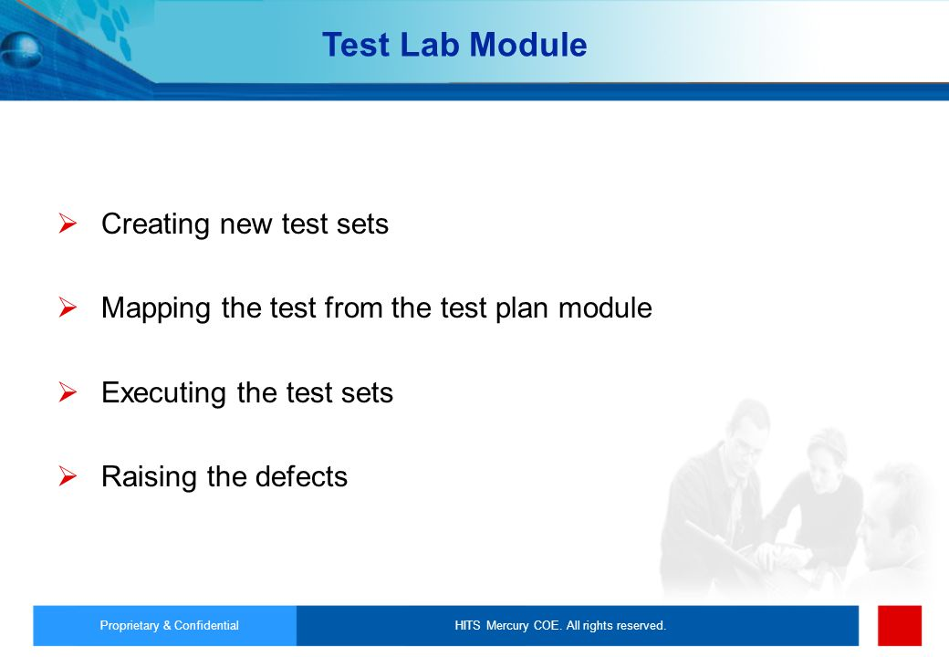 Test Lab Module Creating new test sets