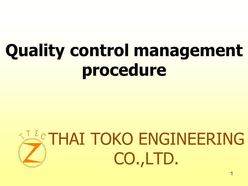 THAI TOKO ENGINEERING CO.,LTD.
