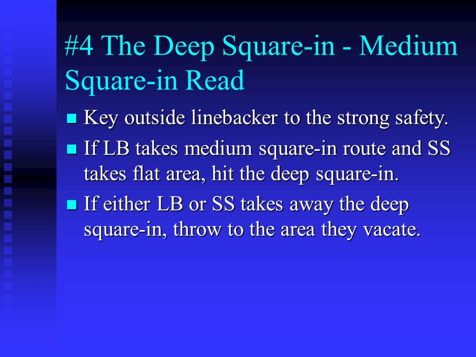 #4 The Deep Square-in - Medium Square-in Read