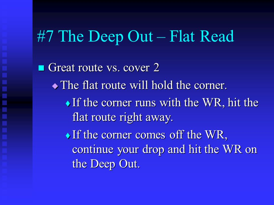 #7 The Deep Out – Flat Read