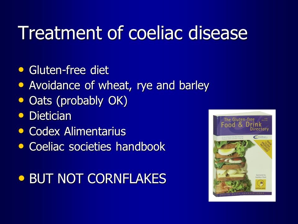 Treatment of coeliac disease