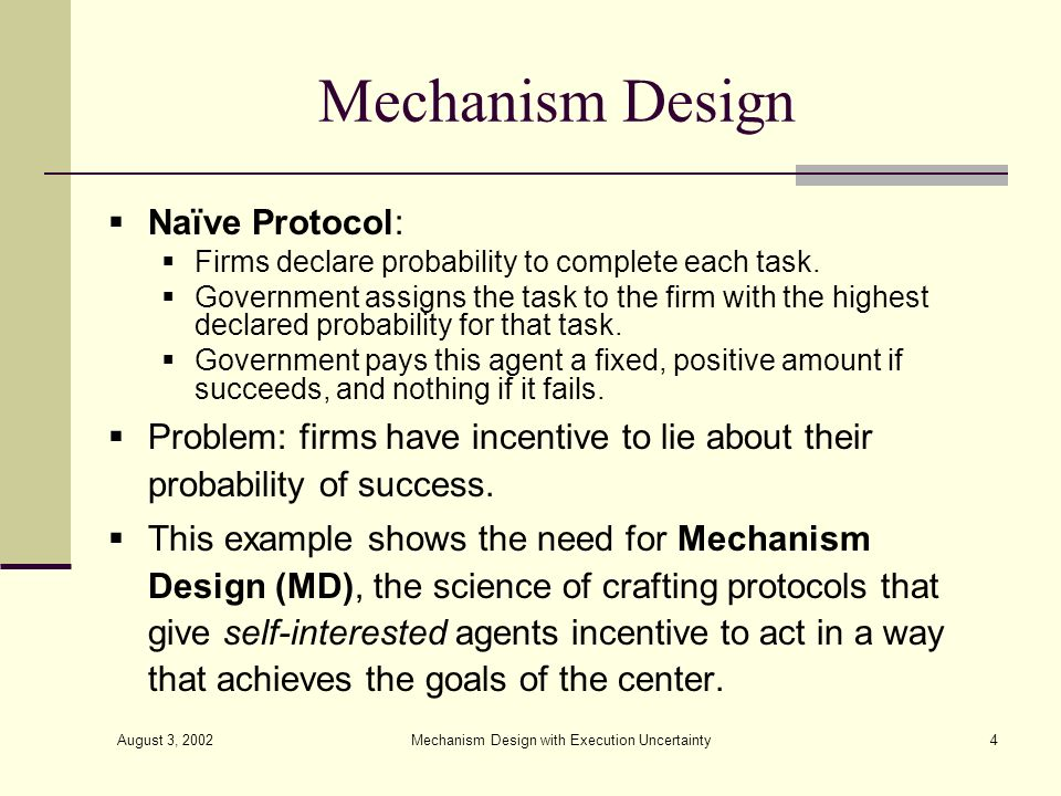Mechanism Design with Execution Uncertainty