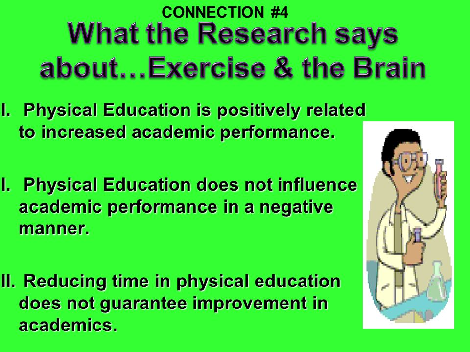 What the Research says about…Exercise & the Brain