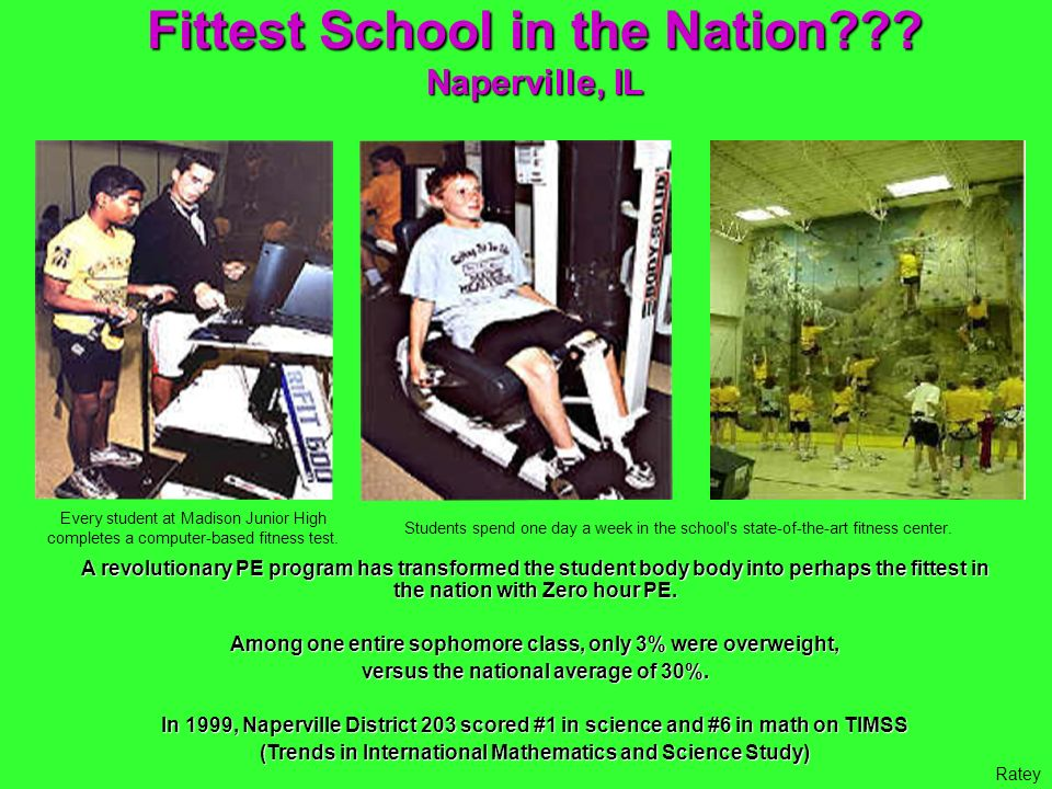 Fittest School in the Nation
