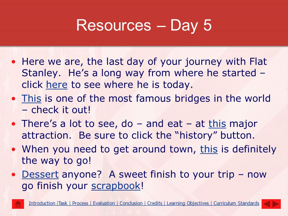 Resources – Day 5