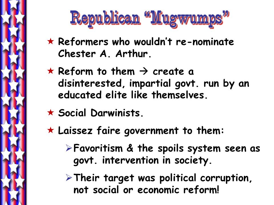 Republican Mugwumps