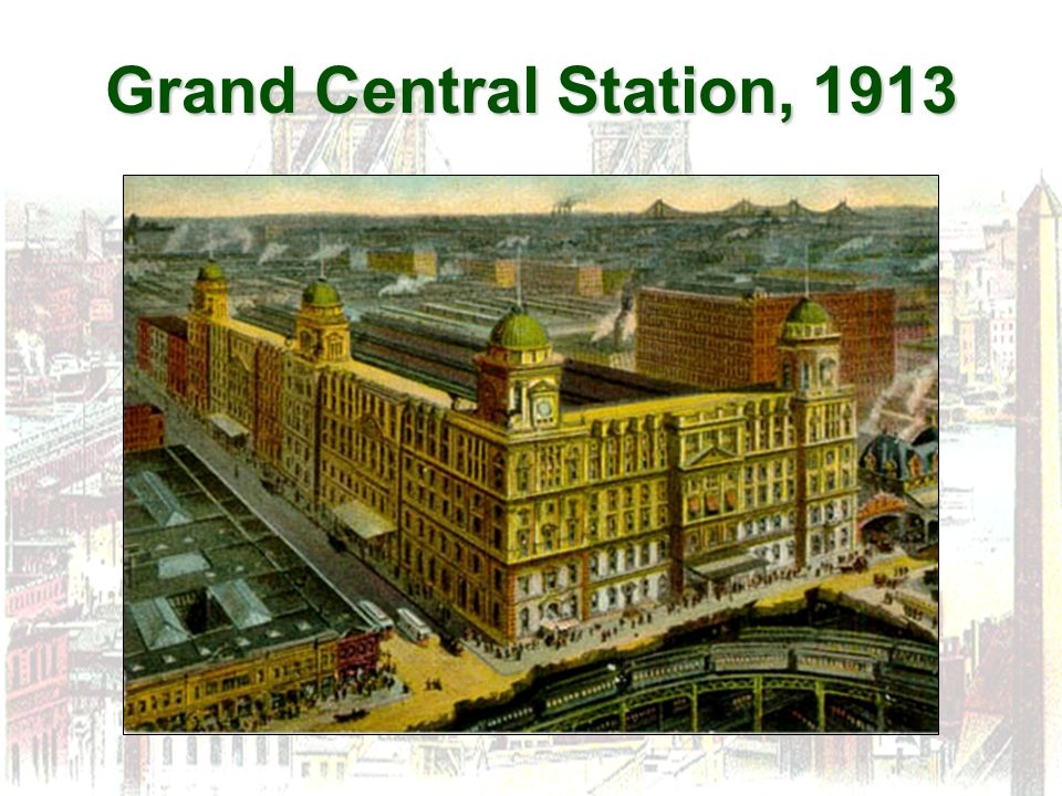 Grand Central Station, 1913