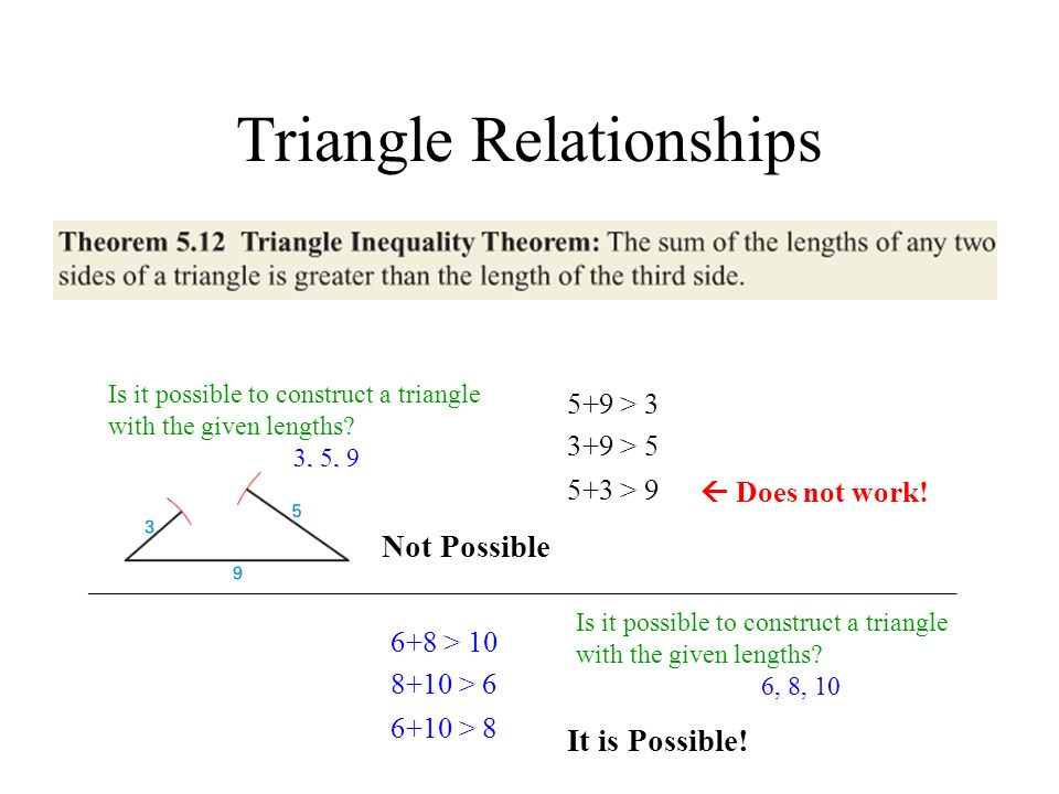 Triangle Relationships