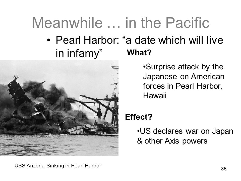 Meanwhile … in the Pacific