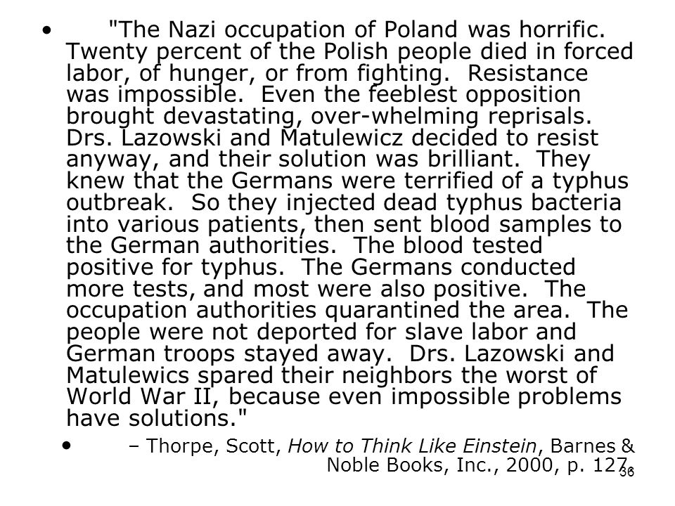 The Nazi occupation of Poland was horrific
