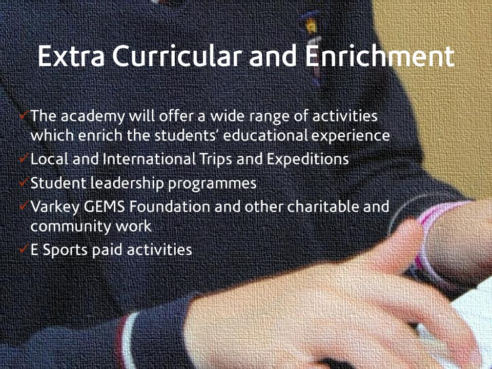 Extra Curricular and Enrichment
