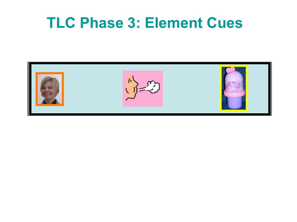TLC Phase 3: Element Cues