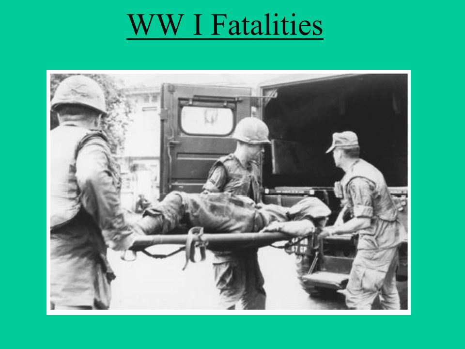 WW I Fatalities