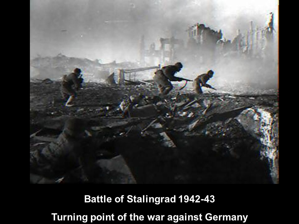 Turning point of the war against Germany