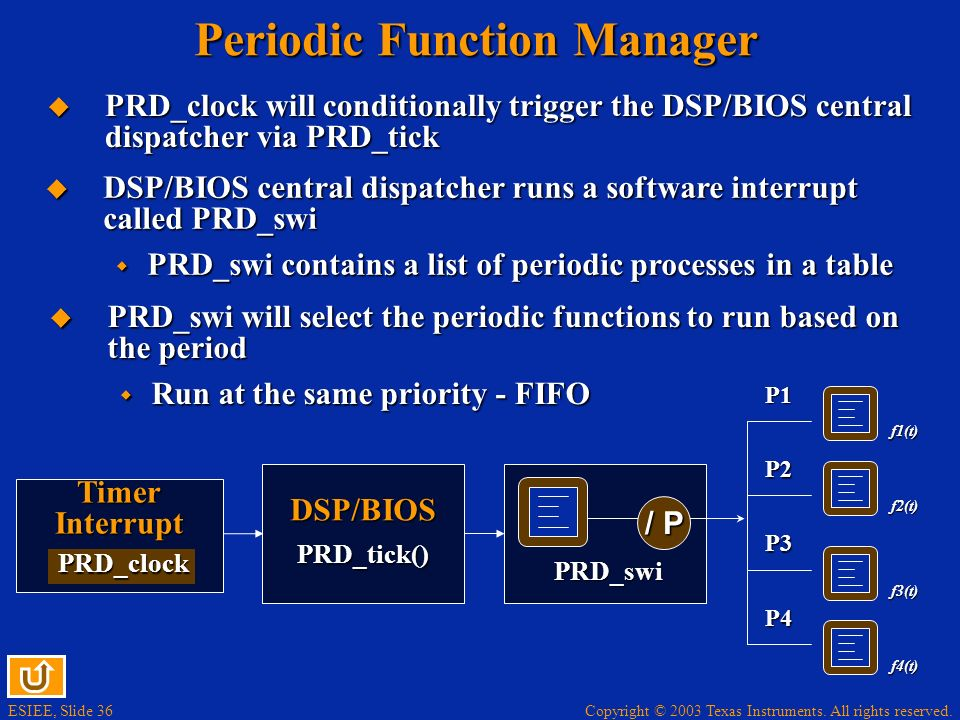 Periodic Function Manager