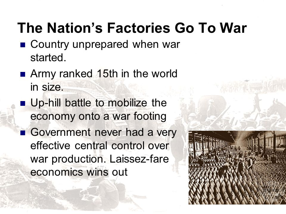 The Nation's Factories Go To War