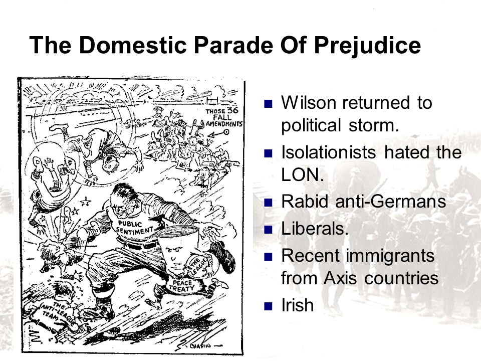 The Domestic Parade Of Prejudice