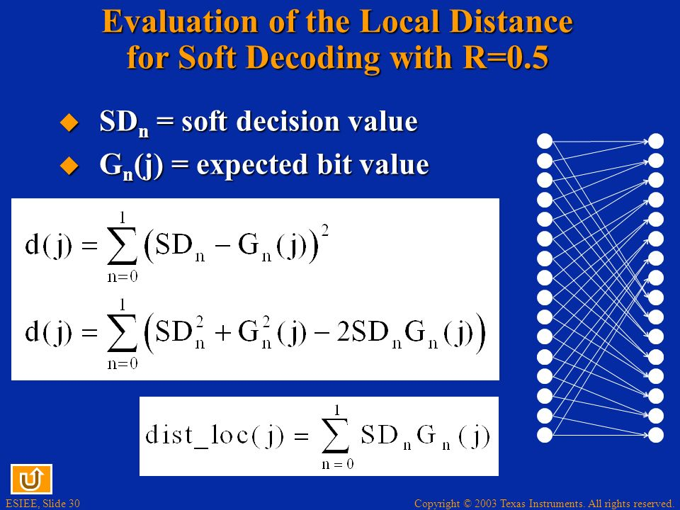 Evaluation of the Local Distance for Soft Decoding with R=0.5