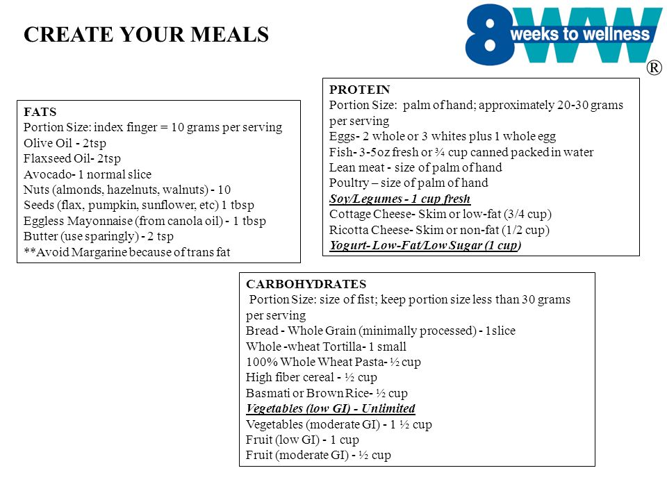 CREATE YOUR MEALS PROTEIN