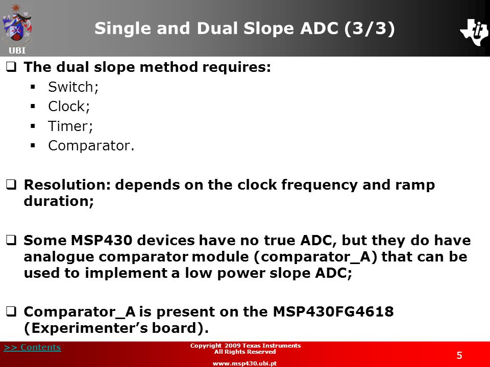 Single and Dual Slope ADC (3/3)