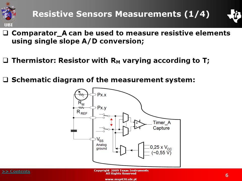 Resistive Sensors Measurements (1/4)