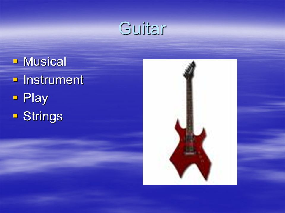 Guitar Musical Instrument Play Strings