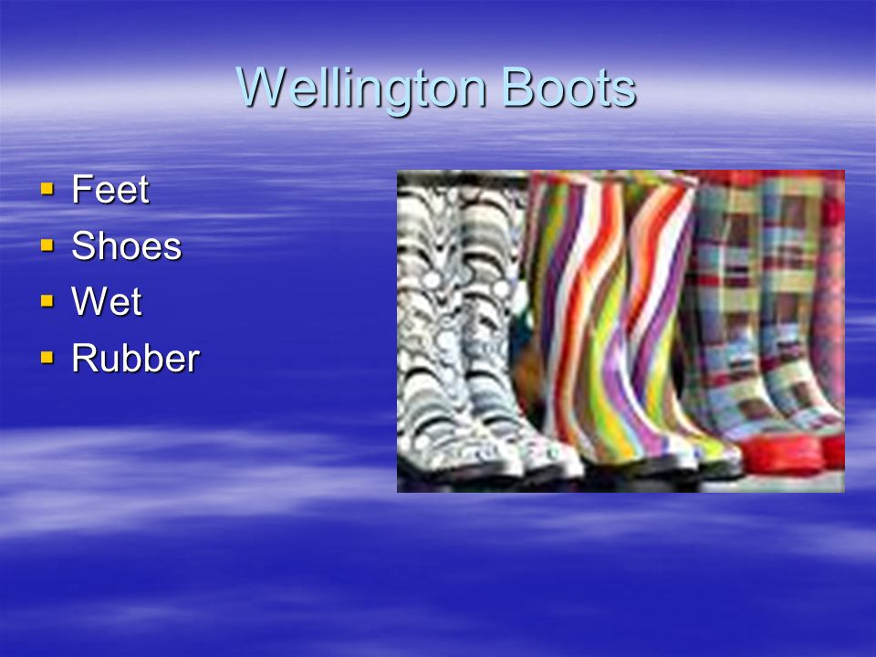 Wellington Boots Feet Shoes Wet Rubber