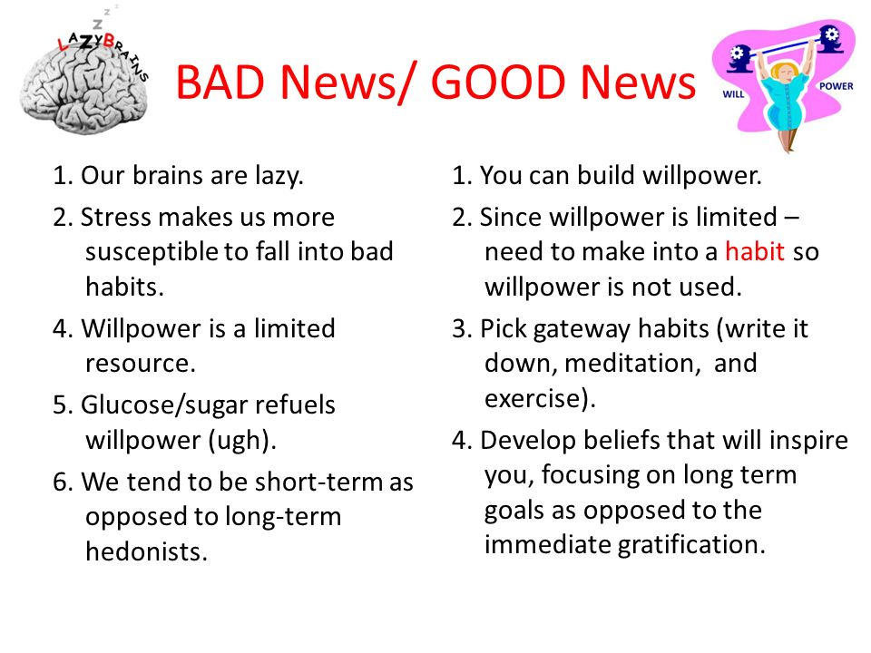 BAD News/ GOOD News