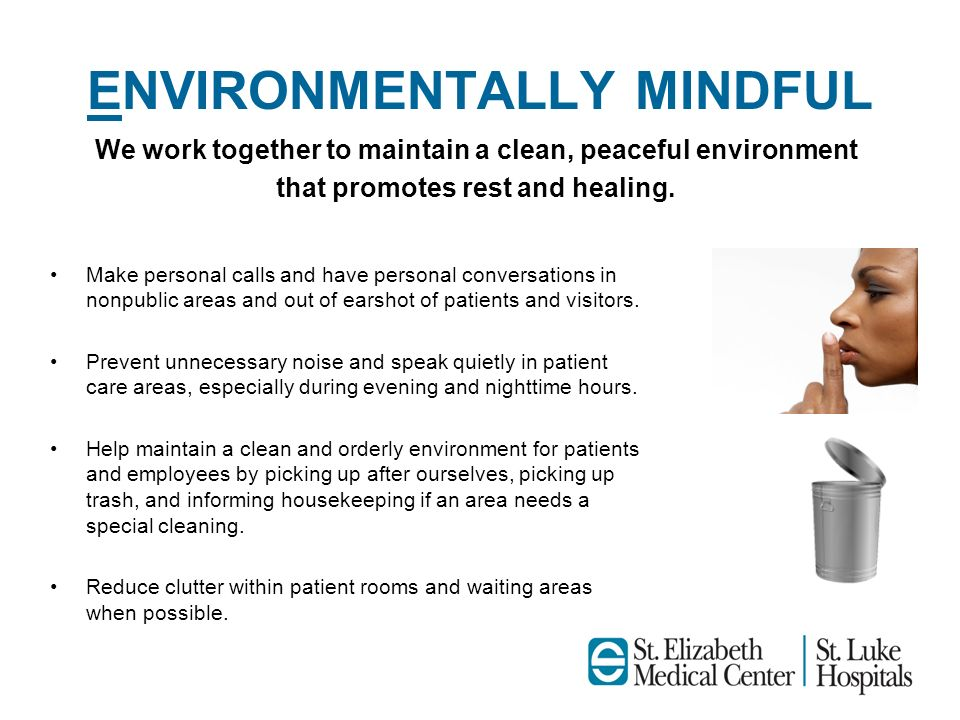 ENVIRONMENTALLY MINDFUL
