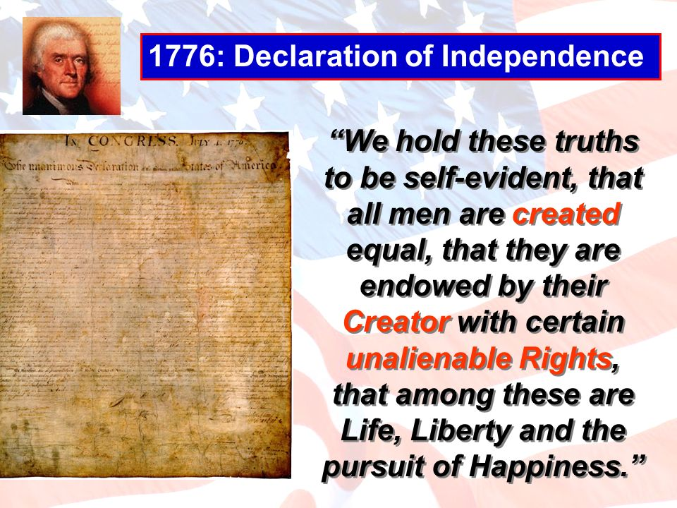 1776: Declaration of Independence