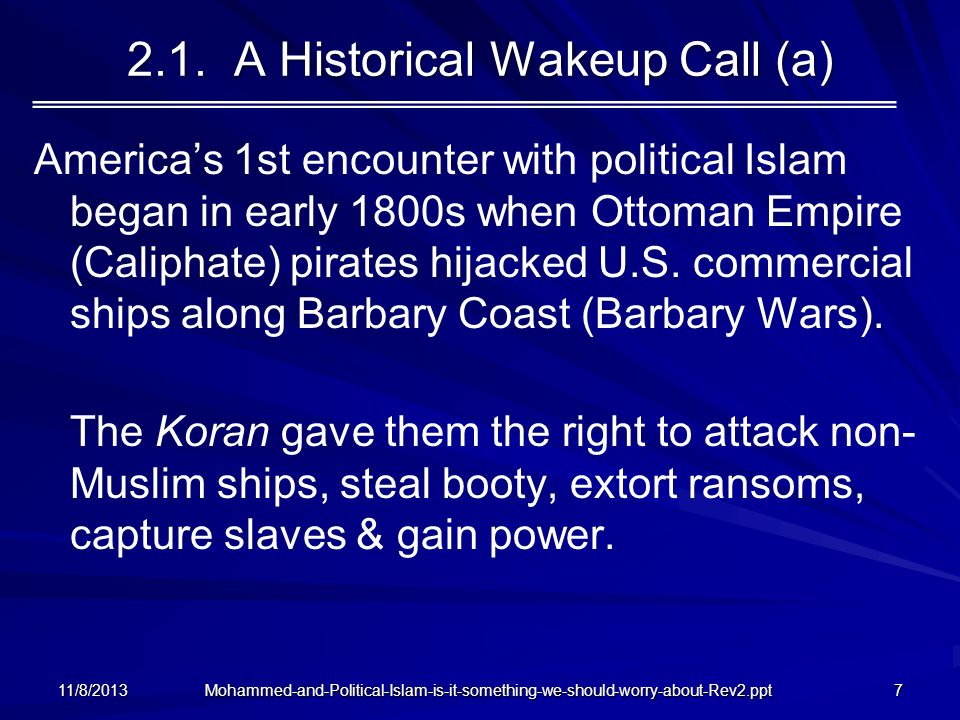 2.1. A Historical Wakeup Call (a)