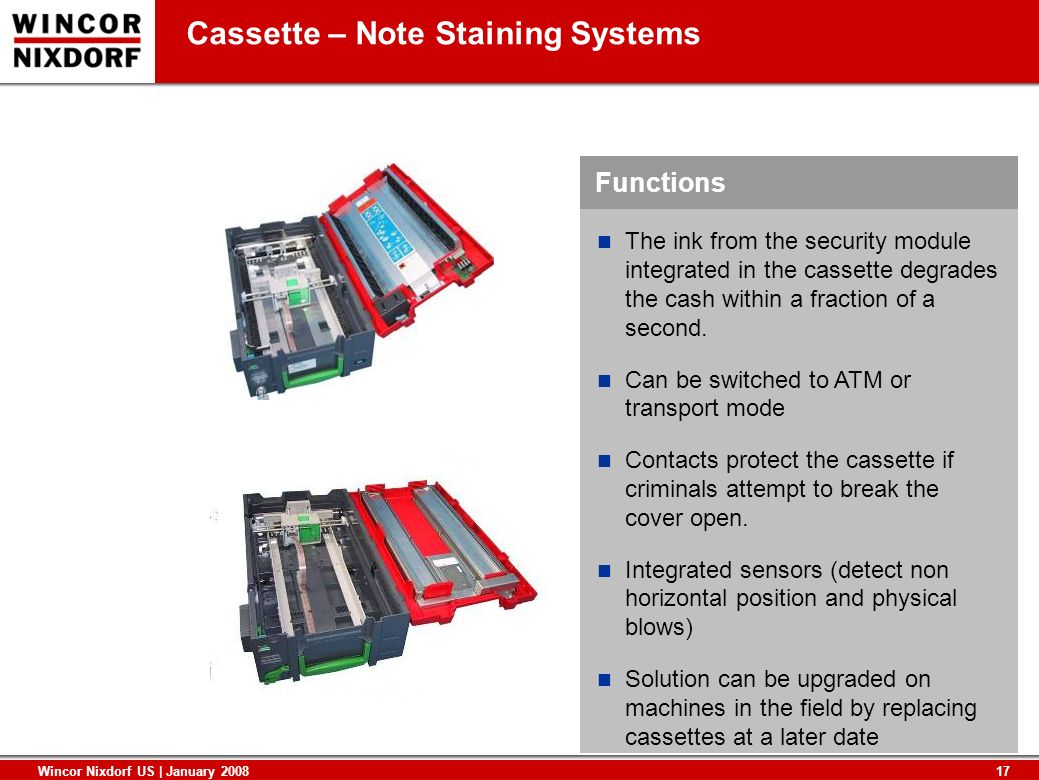 Cassette – Note Staining Systems