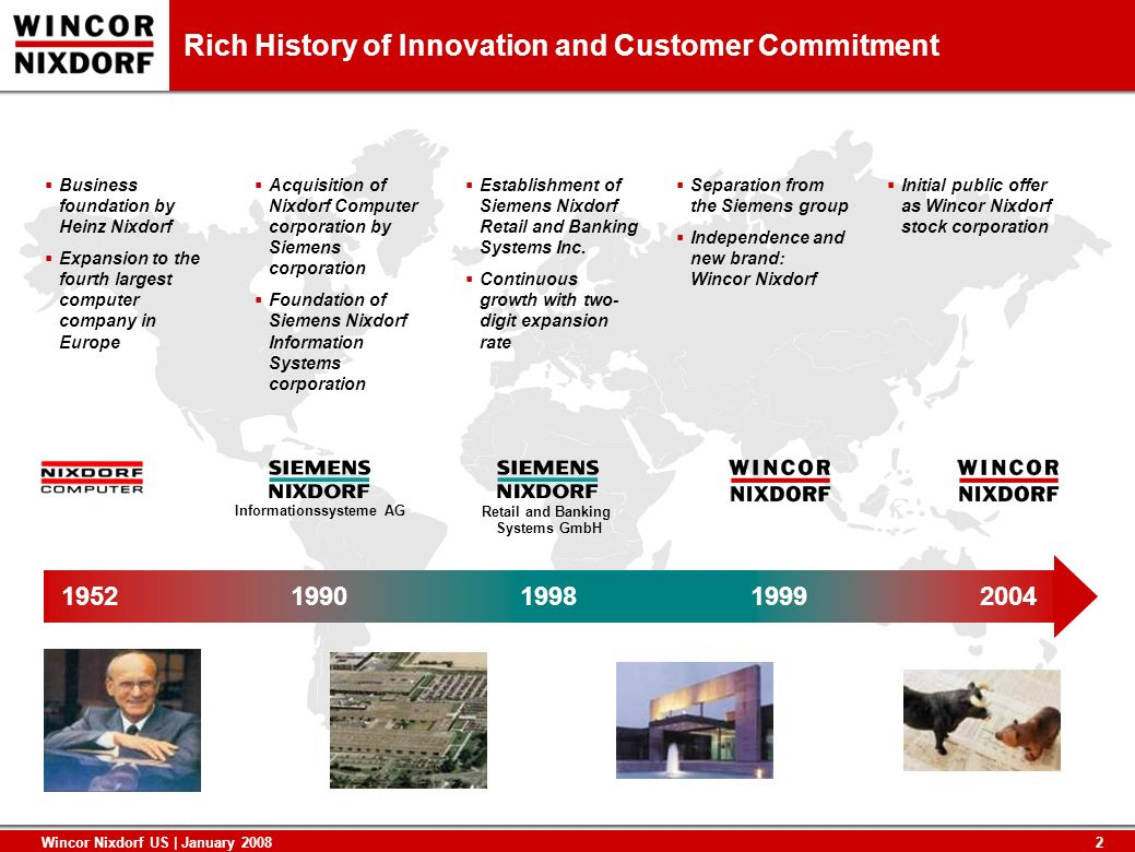 Rich History of Innovation and Customer Commitment