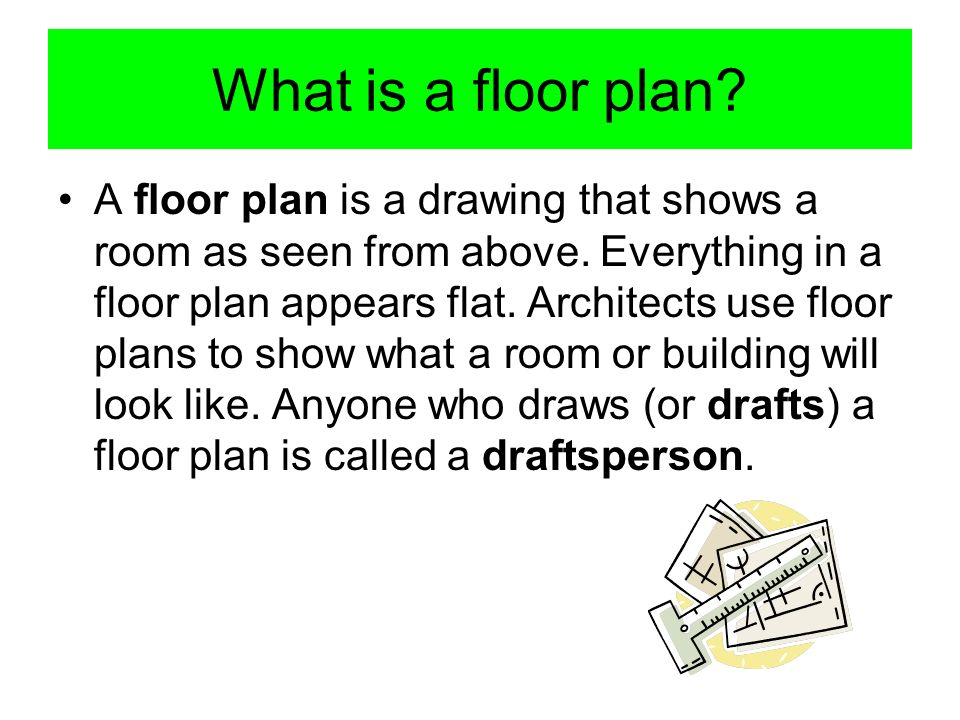 What is a floor plan