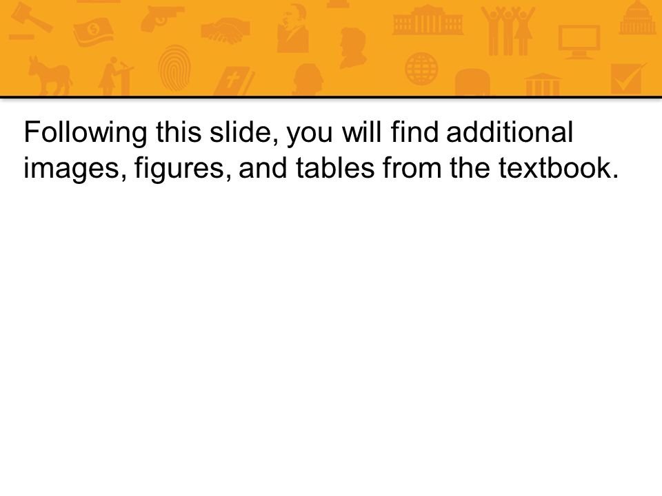 Following this slide, you will find additional images, figures, and tables from the textbook.
