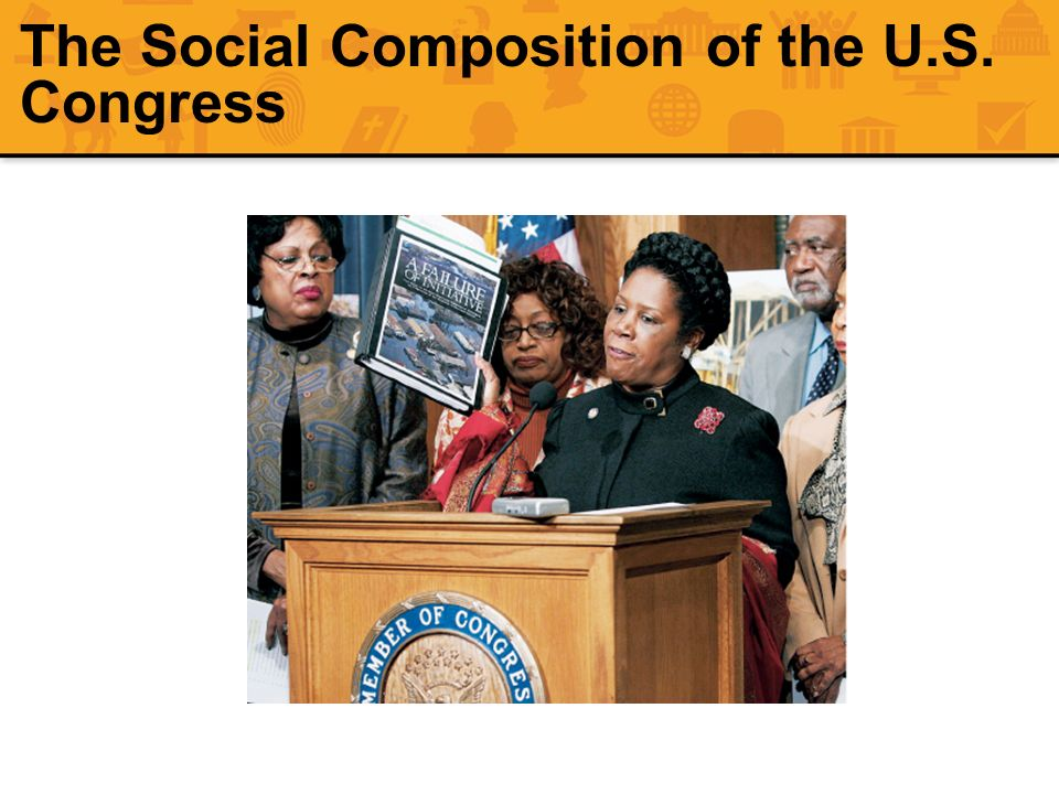 The Social Composition of the U.S. Congress