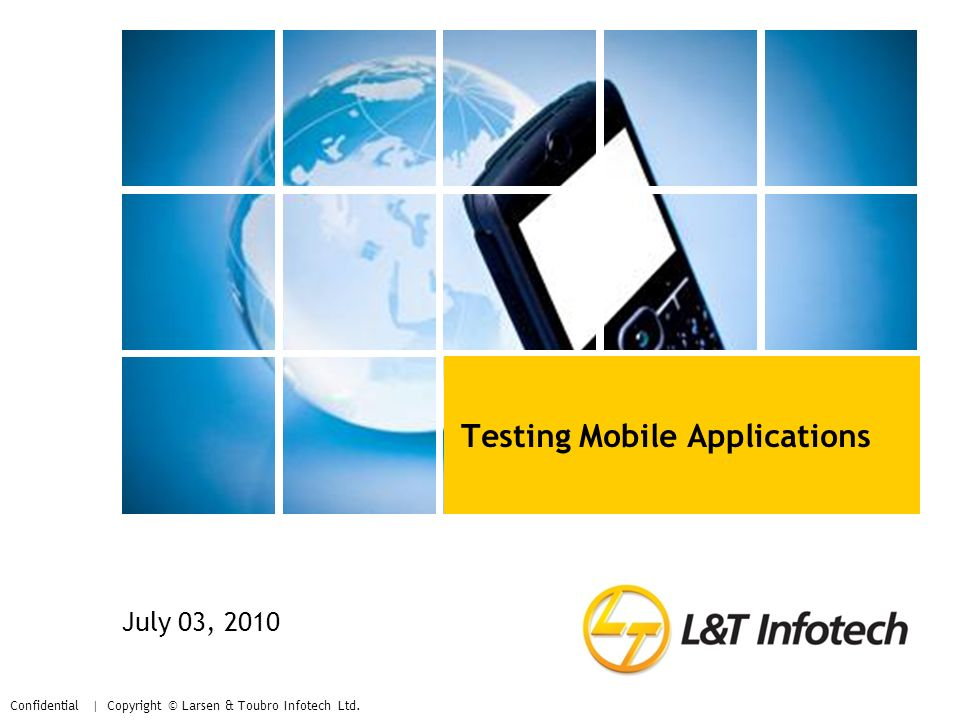Testing Mobile Applications