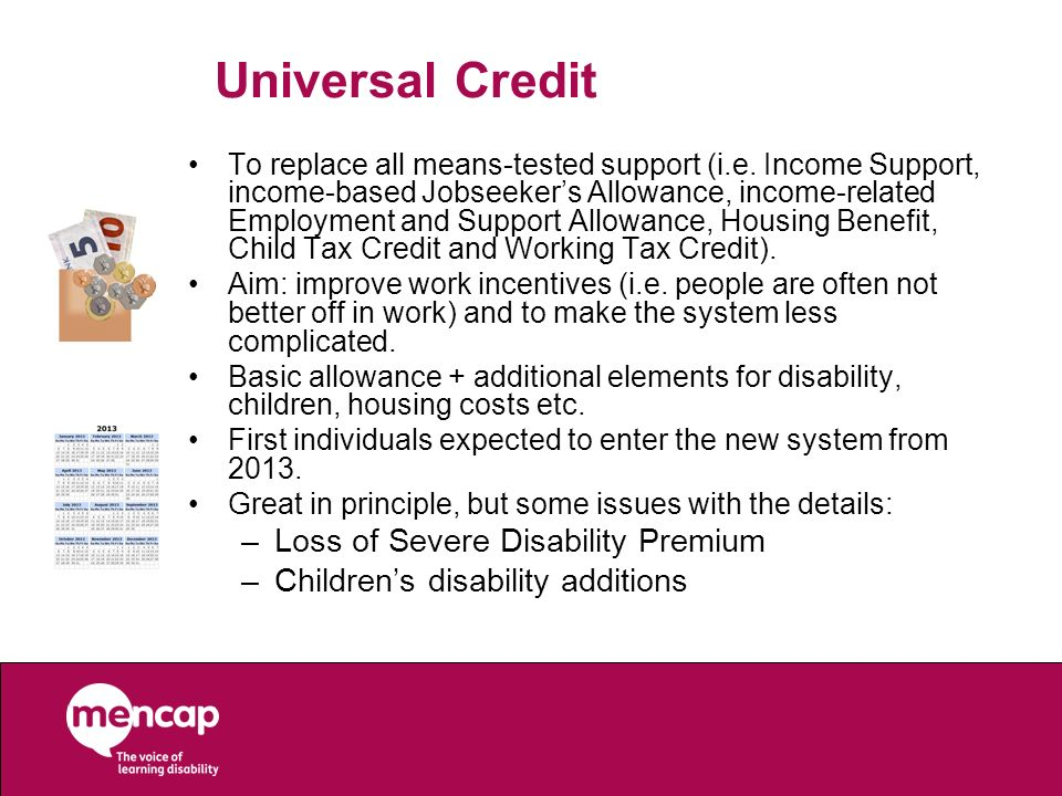 Universal Credit Loss of Severe Disability Premium