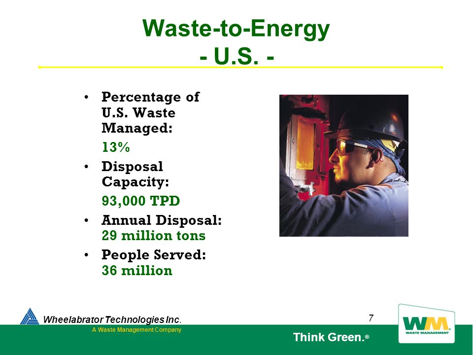 A Waste Management Company