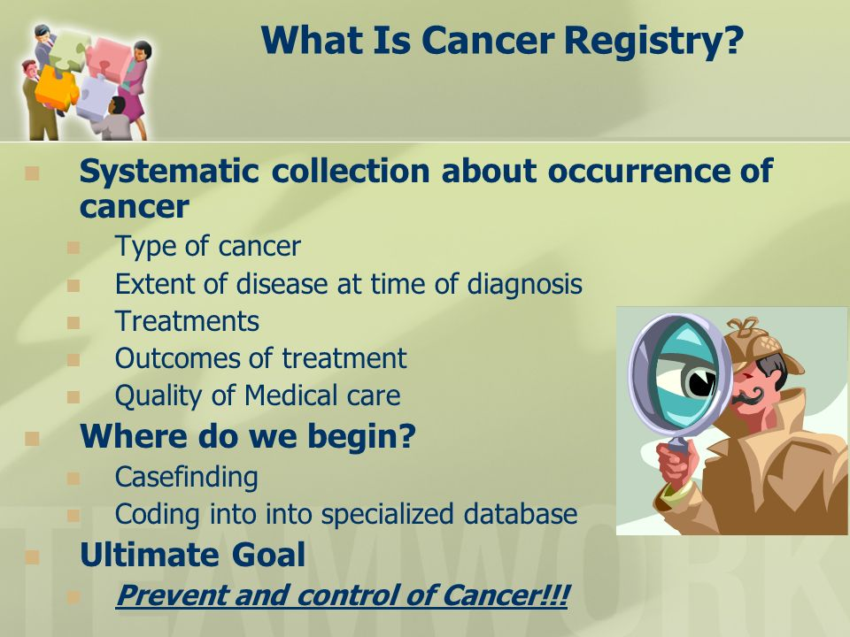 What Is Cancer Registry