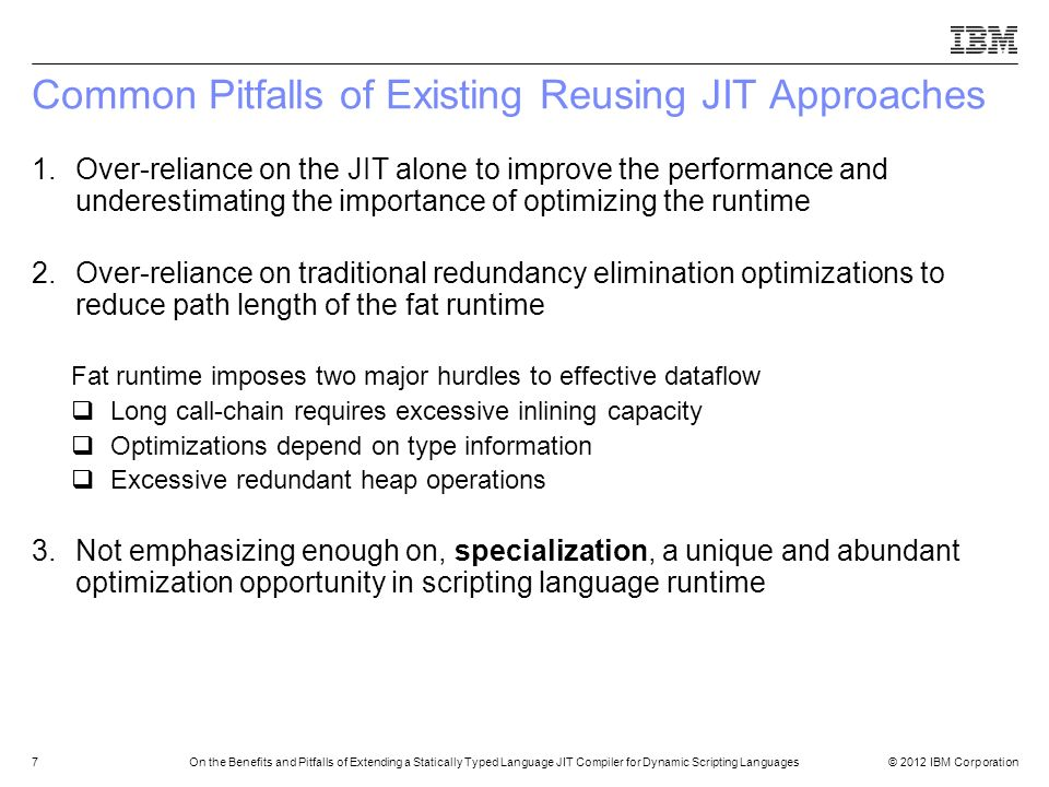 Common Pitfalls of Existing Reusing JIT Approaches