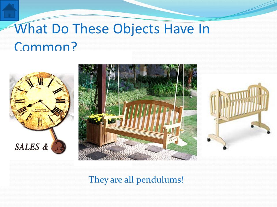 What Do These Objects Have In Common