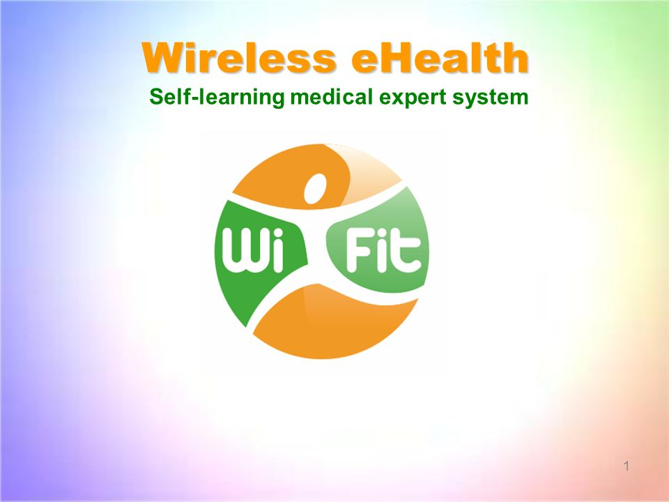 Wireless eHealth Self-learning medical expert system