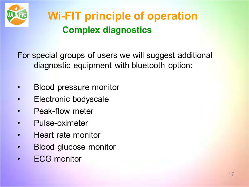 Wi-FIT principle of operation